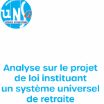 [UNSA] Analyse sur le projet de loi instituant un système universel de retraite