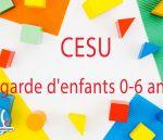 CESU 0-6 ans : rectification obtenue - 23 juillet 2020