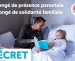 Congé de présence parentale : des nouveautés