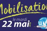 [UNSA] Mobilisation pour le 22 mai en Bourgogne-Franche-Comté !