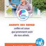 [UNSA] Journées d'actions du 15 mars dans les EHPAD #BourgogneFrancheComté